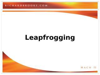 leapfrogging.PPT