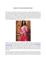 Salwar Suit  A Timeless Indian Ethic Fashion.pdf