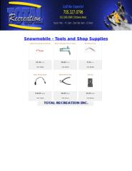Snowmobile - Tools and Shop Supplies - Totalrecreation.ca.docx