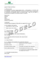 Laudo técnico elétrico - Modelo.pdf