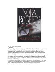 Nora Roberts - Iskrena izdaja.pdf