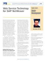 Web Service Technology for SAP NetWeaver.pdf