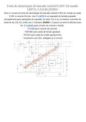 Fonte de alimentação de bancada variável 0a30v 5a.docx