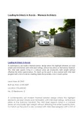 leading architects in kerala.pdf