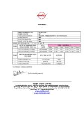 TEST REPORT FOR NTPC - OFC 2.DOC