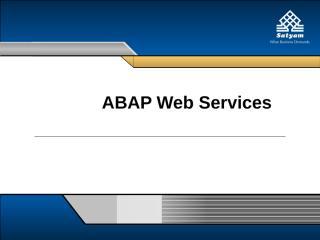ABAP webservice.ppt