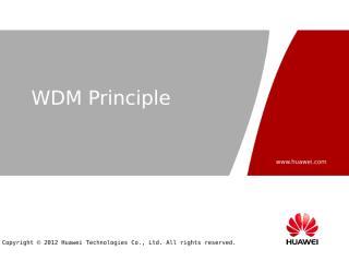 OTC000003 WDM Principle ISSUE1.25.pptx