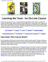 joan bunning learning the tarot.pdf - 4shared.com - document ...