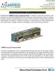 Prefabricated Domestic MBBR Sewage Treatment Plant.pdf