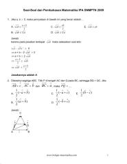 soal-soal dan pembahasan matematika ipa snmptn 2009.pdf