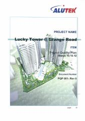 PQP-Project Quality Plan for Lucky Tower Condominium.pdf