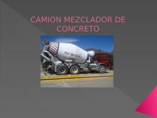 camion concretero.pptx