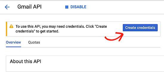 createcredentials