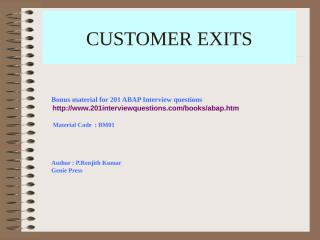User exits.ppt