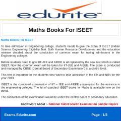 Maths Books For ISEET.pdf
