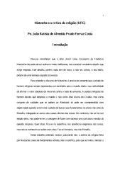 Nietzsche e a Crítica da Religião - Padre Joao Batista de Almeida Prado Ferraz Costa.pdf