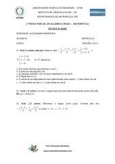 2ª prova parcial de álgebra linear 1 2013 - matemática.pdf