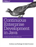 Lee Rubinger A., Knutsen A. - Continuous Enterprise Development in Java - 2014.pdf